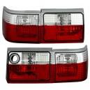 Zadní čirá světla Audi 80 B3 červená/krystal