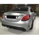 Mercedes Benz W205 křídlo kufru, vzhled AMG