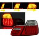 BMW E46 Coupé 4/99-3/03 zadní světla, LED červená/krystal