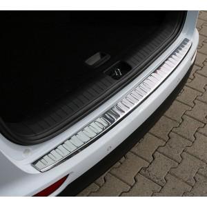 Škoda Superb 2 3T Kombi (08-14) ochranná lišta hrany kufru, CHROM