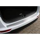 BMW X1 F48 2015+ ochranná lišta hrany kufru, MATNÁ