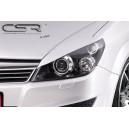 Opel Astra H mračítka předních světel