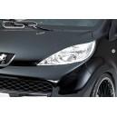 Peugeot 107 mračítka předních světel