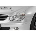 Mercedes Benz SL R230 mračítka předních světel