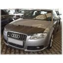 Audi A4 S4 B7 (04-08) potah kapoty CARBON černý