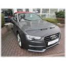 Audi A5 (11-16) potah kapoty CARBON stříbrný