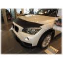 BMW X1 E84 (09-15) potah kapoty CARBON stříbrný