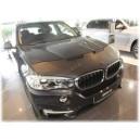 BMW X5 F15 (13-18) potah kapoty CARBON černý