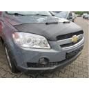 Chevrolet Captiva (06-11) potah kapoty CARBON stříbrný