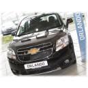 Chevrolet Orlando (2010+) potah kapoty CARBON černý