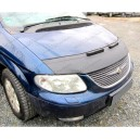 Chrysler Grand Voyager (01-07) potah kapoty CARBON stříbrný