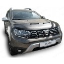 Dacia Duster 2 (2018+) potah kapoty CARBON stříbrný