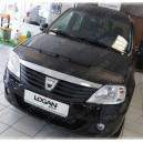Dacia Logan (04-12) potah kapoty CARBON černý