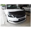 Škoda Fabia 3 (2014+) potah kapoty CARBON stříbrný
