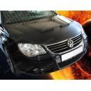 VW EOS (06-10) potah kapoty CARBON stříbrný