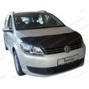 VW Touran (10-15) potah kapoty CARBON stříbrný