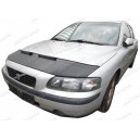 Volvo S60 V70 XC70 (00-09) potah kapoty CARBON stříbrný