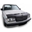 Mercedes Benz W201 C (82-93) potah kapoty CARBON stříbrný