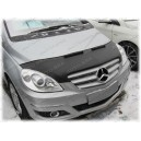 Mercedes Benz W245 B (05-11) potah kapoty CARBON stříbrný