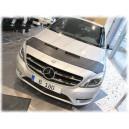 Mercedes Benz W246 B (11-17) potah kapoty CARBON stříbrný