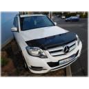 Mercedes Benz GLK X204 (08-15) potah kapoty CARBON stříbrný