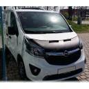 Fiat Talento (2014+) potah kapoty CARBON stříbrný