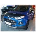 Ford Ecosport (12-16) potah kapoty CARBON stříbrný