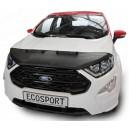 Ford Ecosport (2017+) potah kapoty CARBON stříbrný