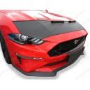 Ford Mustang (2014+) potah kapoty CARBON stříbrný
