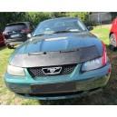 Ford Mustang IV (99-04) potah kapoty CARBON stříbrný