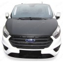 Ford Tourneo Custom (2018+) potah kapoty CARBON stříbrný