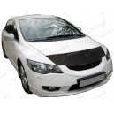 Honda Accord Mk8 (08-15) potah kapoty CARBON stříbrný