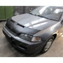 Honda Civic 5 (91-95) potah kapoty CARBON stříbrný