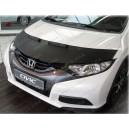 Honda Civic 9 (11-14) potah kapoty CARBON stříbrný
