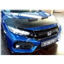 Honda Civic 10 (2015+) potah kapoty CARBON černý