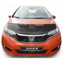 Honda Fit (13-19) potah kapoty CARBON stříbrný