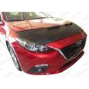 Mazda 3 Typ BM BN (13-18) potah kapoty CARBON stříbrný