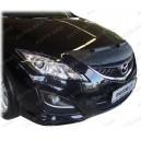 Mazda 6 (08-12) potah kapoty CARBON stříbrný