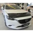 Mazda 6 Typ GL/GJ (2012+) potah kapoty CARBON černý