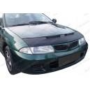 Mitsubishi Carisma (93-99) potah kapoty CARBON stříbrný