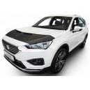 Seat Tarraco (2018+) potah kapoty CARBON stříbrný
