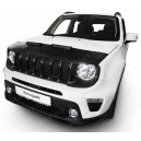 Jeep Renegade (2014+) potah kapoty CARBON stříbrný