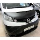 Nissan NV200 (2009+) potah kapoty CARBON stříbrný
