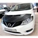 Nissan Pulsar (14-18) potah kapoty CARBON černý