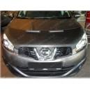 Nissan Qashqai (10-13) potah kapoty CARBON stříbrný