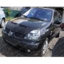 Renault Clio 2 (01-05) potah kapoty CARBON stříbrný