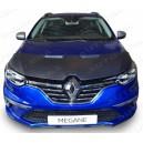Renault Megane IV (2016+) potah kapoty CARBON stříbrný