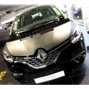 Renault Scenic (2016+) potah kapoty CARBON stříbrný