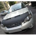 Subaru Legacy (03-09) potah kapoty CARBON stříbrný