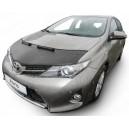 Toyota Auris (12-18) potah kapoty CARBON stříbrný